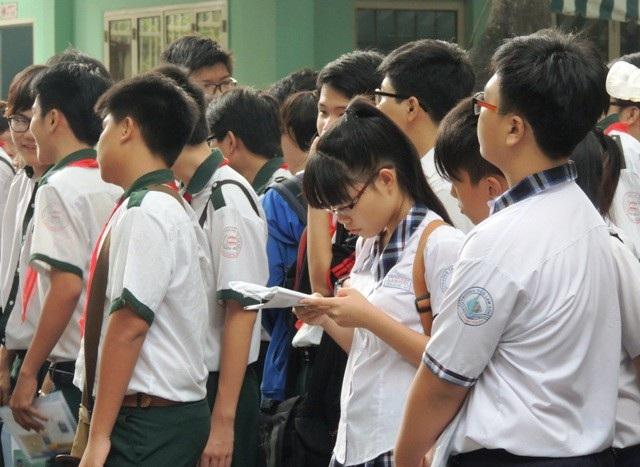 TPHCM đang chờ quyết định của Bộ GD-ĐT về cộng điểm khuyến khích khi thi vào lớp 10