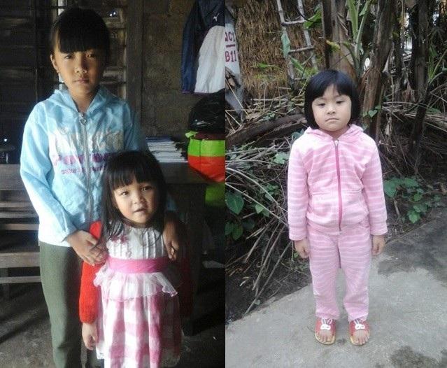 3 đứa con nhỏ phải chia ra ở hai bên nhà nội ngoại vì căn nhà đã không thể ở được sau vụ cháy