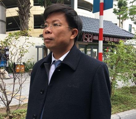 Tiến sĩ, Luật sư Lê Văn Thiệp - người bào chữa cho Trịnh Xuân Thanh.