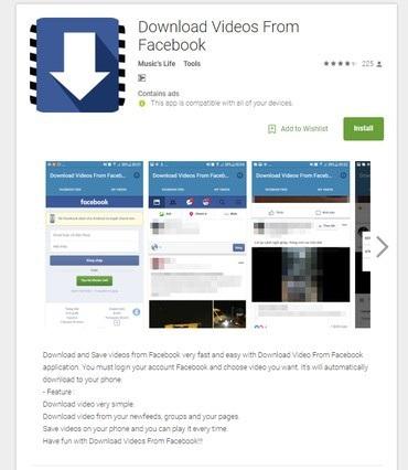 Một trong các ứng dụng có chứa mã độc được chia sẻ trên kho ứng dụng Google Play với hơn 100.000 lượt tải