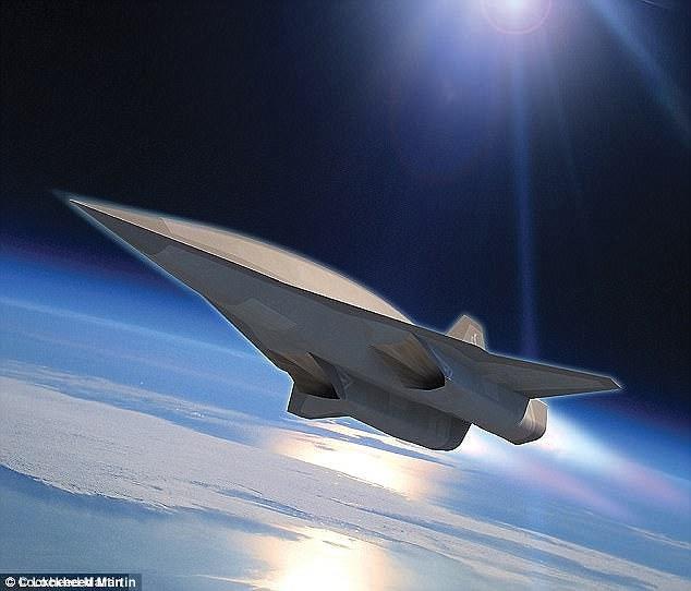 Hình ảnh phác thảo SR-72 do hãng Lockheed Martin cung cấp (Ảnh: Lockheed Martin)