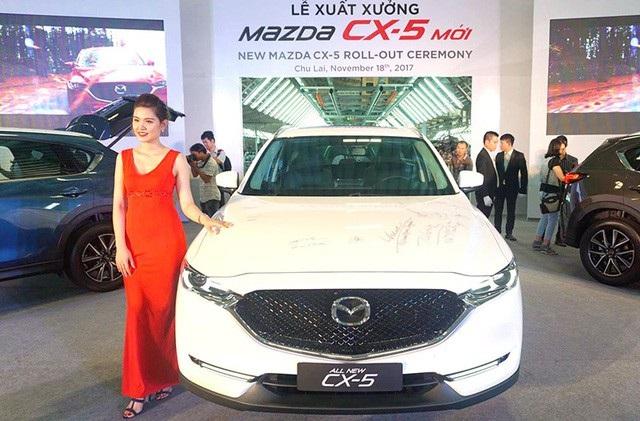 Trường Hải điều chỉnh giá xe Mazda - 1