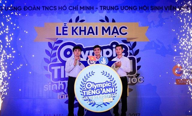 Trung ương Đoàn TNCS Hồ Chí Minh khai mạc Hội thi Olympic tiếng Anh sinh viên toàn quốc lần thứ I năm 2017 vào sáng 7/5 tại Hà Nội.