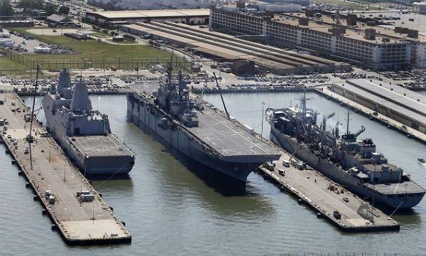 Mỹ đang tăng cường sự hiện diện xung quanh bán đảo Triều Tiên