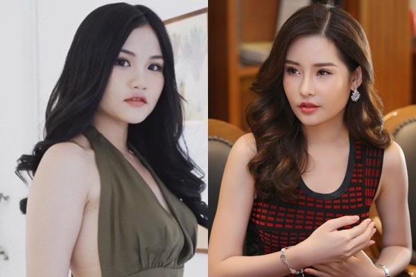 Top 9 Miss Teen 2017 Ngọc Hân có nhiều nét giống với Hoa hậu Đại Dương Ngân Anh.