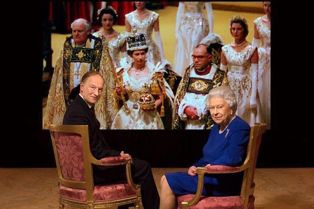 Nữ hoàng Anh Elizabeth II trả lời phỏng vấn BBC. (Ảnh: BBC)