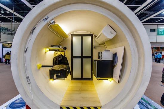 Độc đáo nhà ống cống trị giá hơn 340 triệu đồng ở Hong Kong - 2