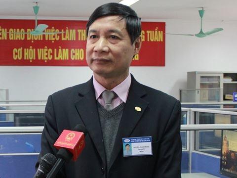 Ông Nguyễn Toàn Phong - Giám đốc Trung tâm Dịch vụ việc làm Hà Nội