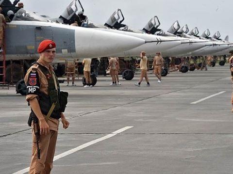 Căn cứ không quân Hmeymim của Nga tại Syria
