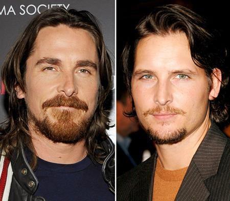 Christian Bale và Peter Facinelli thì thường xuyên khiến người hâm mộ nhầm lẫn.