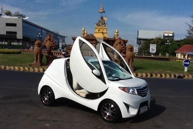 Ô tô Angkor EV 2014 của Campuchia ra mắt từ năm 2014