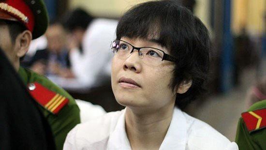 Bị cáo Huỳnh Thị Huyền Như tại tòa