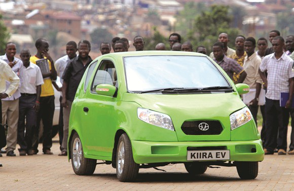  Chiếc xe Kiira thế hệ đầu tiên, ra mắt năm 2011 - Ảnh: denisnwowu.com
