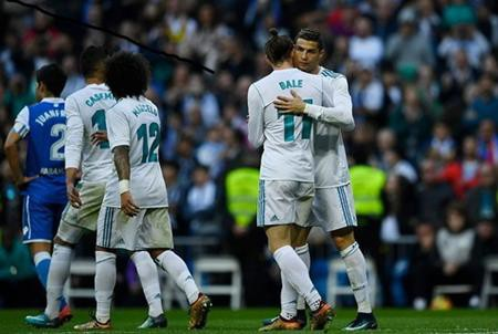 C.Ronaldo đã lấy lại phong độ ghi bàn