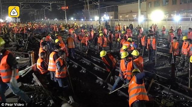 Minh chứng rõ ràng cho năng suất đáng kinh ngạc của công nhân Trung Quốc