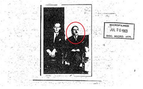 Bức ảnh chụp năm 1963 cho thấy Hitler vẫn sống sót sau Thế chiến 2