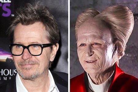 """Đến bây giờ, tạo hình Dracula của Gary Oldman trong phim """"Bram Stoker's Dracula"""" vẫn khiến cho nhiều khán giả phải rùng mình khiếp sợ"""