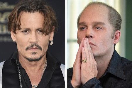 """Ngay cả các fans hâm mộ trung thành nhất của Johnny Depp cũng khó mà có thể nhận ra ngay chàng """"cướp biển"""" với tạo hình của Whitey Bulger trong phim """"Black mass"""""""