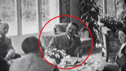 Hình ảnh được cho là Hitler ngồi ăn tối ở Argentina