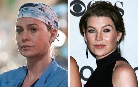 """Vai diễn trong """"Grey's anatomy"""" đã giúp Ellen Pompeo trở thành một trong những nữ diễn viên đắt giá nhất màn ảnh nhỏ. Và ngoài vẻ uyên bác trên phim, khán giả còn bị Ellen Pompeo chinh phục với sự xinh đẹp, thông minh ở ngoài đời."""