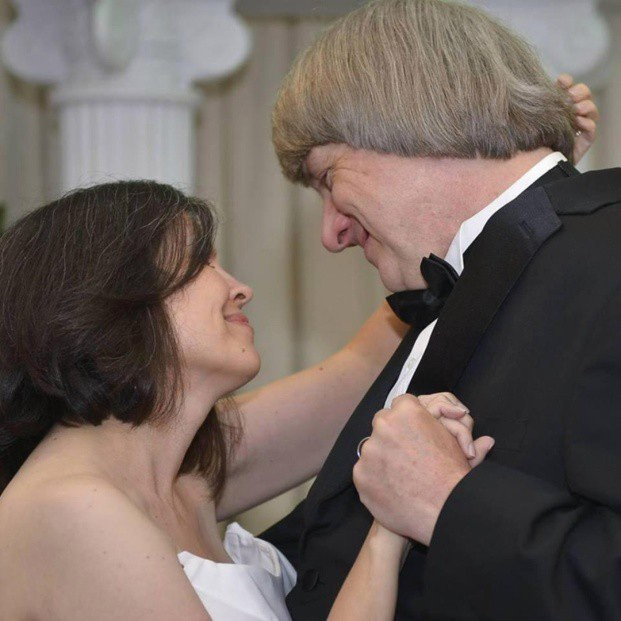 Cặp vợ chồng đám cưới tại Las Vegas vào năm 2016