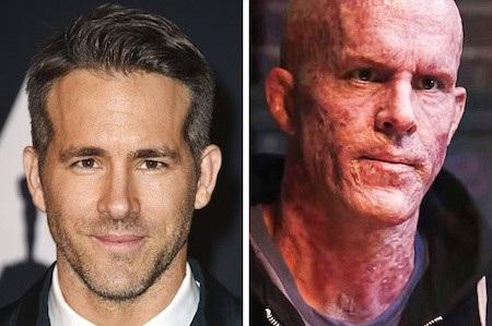 """Ở phần đầu phim """"Deadpool"""", Ryan Reynolds vẫn giữ được diện mạo bảnh bao ở ngoài đời nhưng sau màn biến đổi dữ dội, Deadpool của Ryan đã khiến cho nhiều khán giả phải """"đau tim"""" như thế này"""