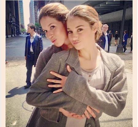 … và Shailene Woodley.