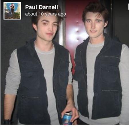 """Paul Darnell chỉ coi diễn viên đóng thế là nghề tay trái. Tuy vậy, chàng diễn viên điển trai này đã từng có cơ hội đóng thế cho Robert Pattinson trong bộ phim """"Twilight"""" đình đám."""