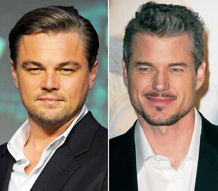 Trông thấy hình ảnh này, ai ai cũng phải ngỡ ngàng vì thần thái và ánh mắt quá đỗi giống nhau của Leonardo DiCaprio và Eric Dane.