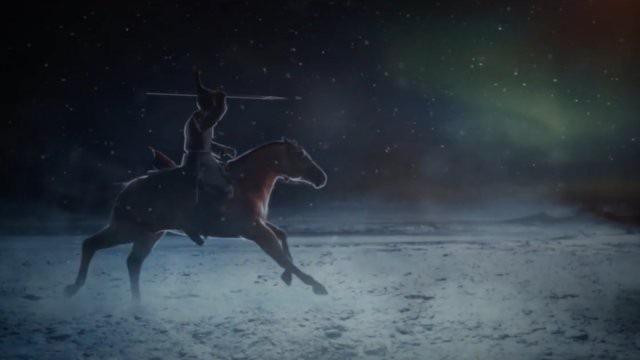 Chiến binh người Scythia trên lưng ngựa