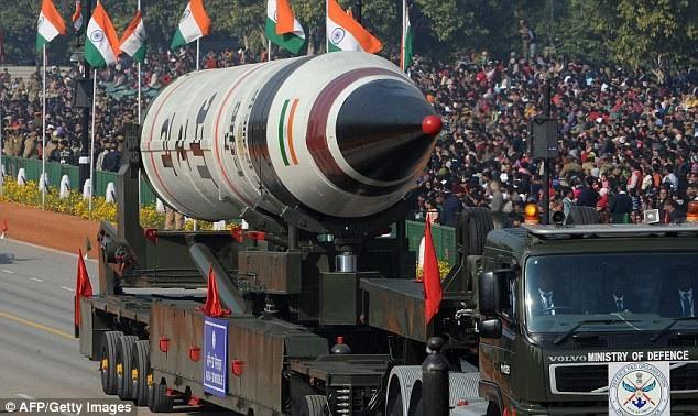 Tên lửa Agni-5 của Ấn Độ (Ảnh: Getty)