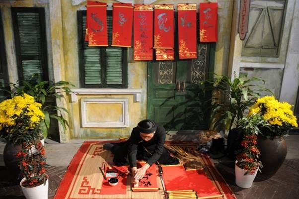 Đến với Tết Việt du khách sẽ được gặp lại những hình ảnh thân quen của những ngày Tết xưa.