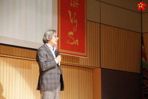 Hội trưởng Hội người Việt tại Nhật – Trần Ngọc Phúc.