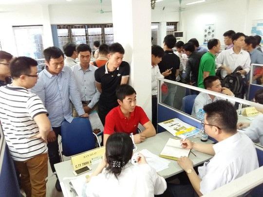 Năm 2017: Hà Nội có 213 phiên giao dịch việc làm - 2
