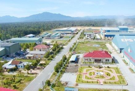 Khu Công nghiệp Phú Bài ở Thị xã Hương Thủy, tỉnh Thừa Thiên Huế là một trong những nơi có mức thưởng Tết cao (ảnh: Ban Quản lý Khu kinh tế, công nghiệp tỉnh Thừa Thiên Huế)