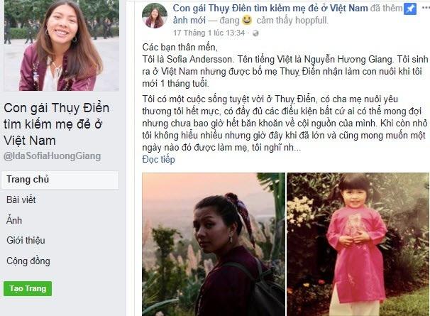 Bài viết Giang đăng tải trên mạng xã hội đã nhận được rất nhiều sự ủng hộ, chia sẻ và động viên. (Ảnh: Facebook)