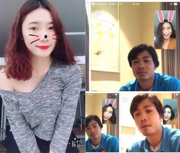 Mới đây nhất, một cô gái đã bị cư dân mạng truy tìm danh tính khi đăng những hình ảnh video call thân mật với Công Phượng. Theo chia sẻ, cô tên thật là Võ Thị Hoài, 20 tuổi và đang theo học tiếng Nhật tại Hà Nội.