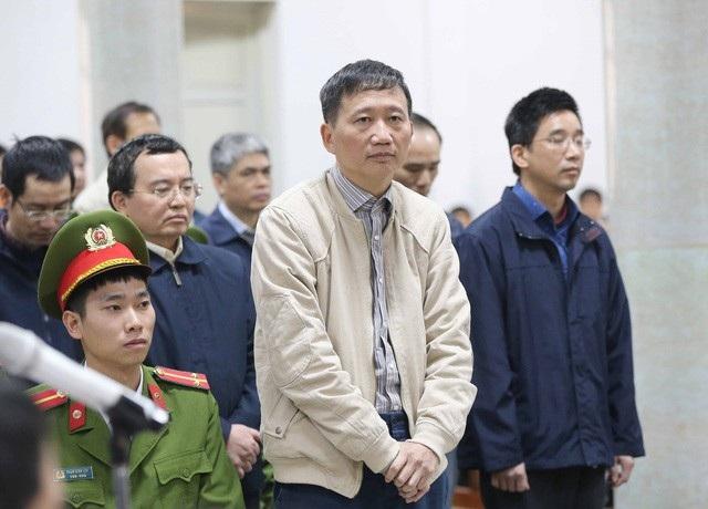 Trịnh Xuân Thanh - thuyền trưởng PVC ngày nào - bị cáo buộc cùng đồng phạm tham ô số tiền 13 tỉ đồng và đã khắc phục hậu quả.