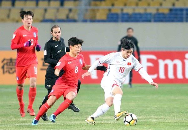 Công Phượng và đồng đội quyết rút kinh nghiệm từ trận thua U23 Hàn Quốc