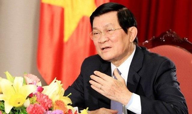 Ông Trương Tấn Sang - Nguyên Ủy viên Bộ Chính trị, nguyên Chủ tịch nước Cộng hòa xã hội chủ nghĩa Việt Nam.
