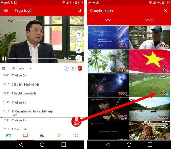 """Hướng dẫn xem trực tiếp """"trận cầu lịch sử"""" của U23 Việt Nam trên smartphone và máy tính - 1"""
