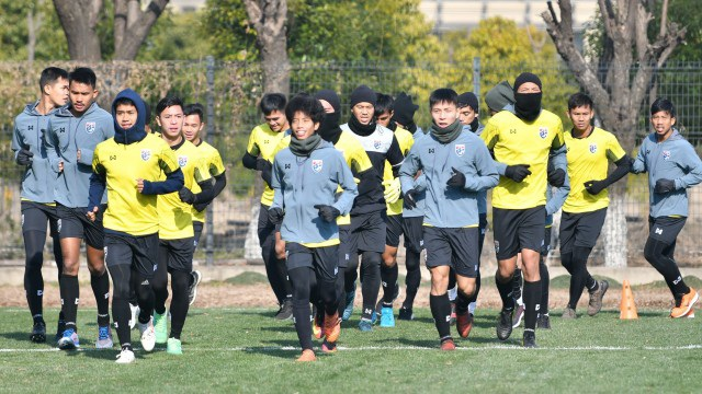 U23 Thái Lan sẽ được thưởng 1 triệu baht cho mỗi điểm có được tại VCK U23 châu Á
