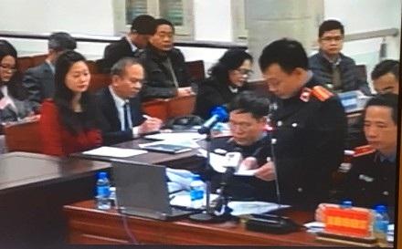 Vị đại điện VKS đặt vấn đề về lợi ích nhóm giữa ông Đinh La Thăng và hai thuộc cấp Trịnh Xuân Thanh, Vũ Đức Thuận.