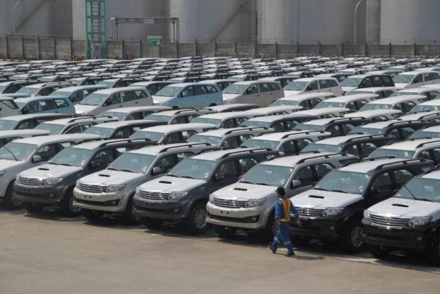 Lượng xe Thái, Indonesia đang chiếm 61% lượng xe nhập về Việt Nam, lượng tăng gấp 2 lần chỉ sau 1 năm.