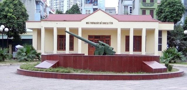 Khu di tích Pháo đài Xuân Tảo.