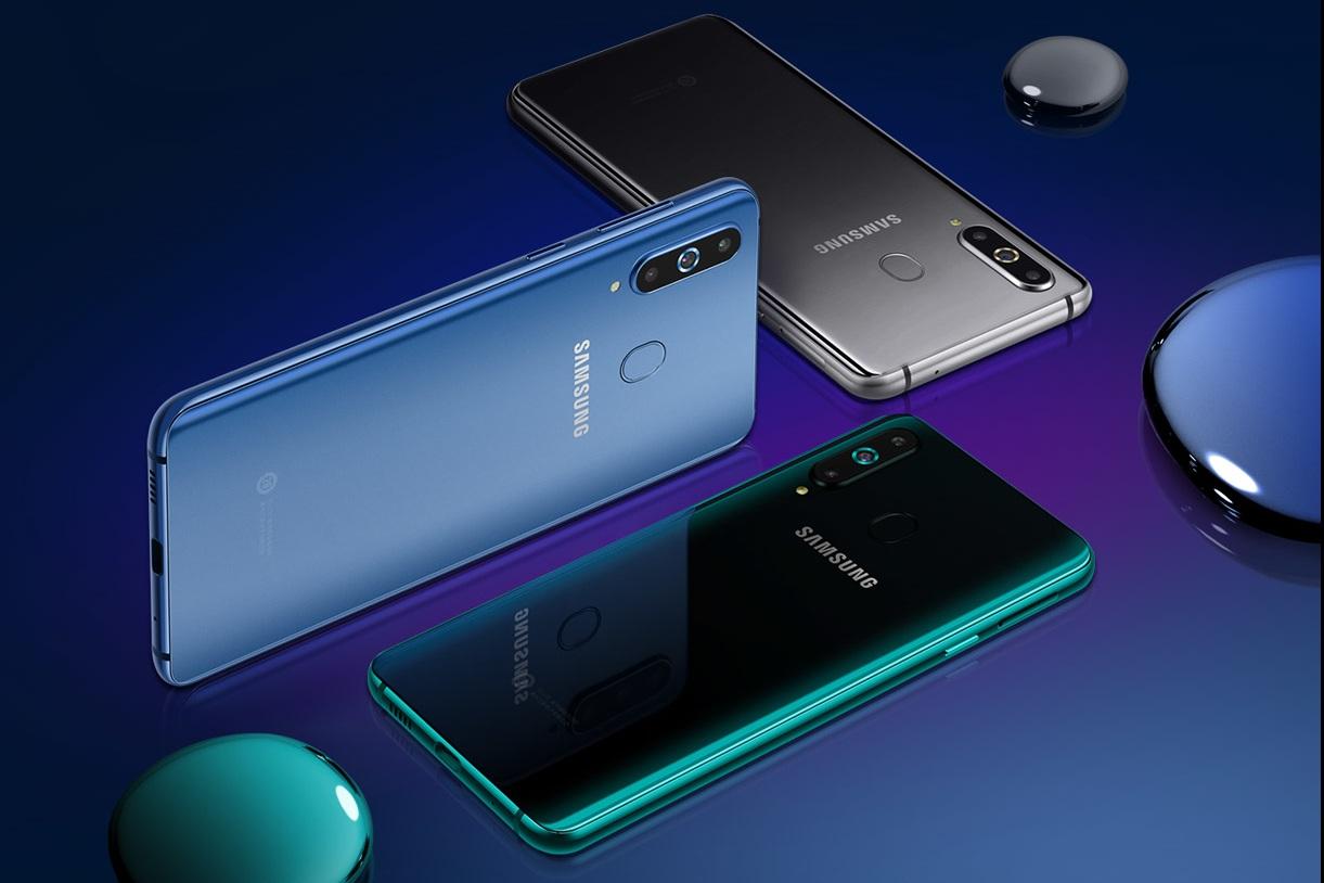 """Samsung trình làng A9 Pro 2019 với """"màn hình đục lỗ"""", cụm 3 camera"""