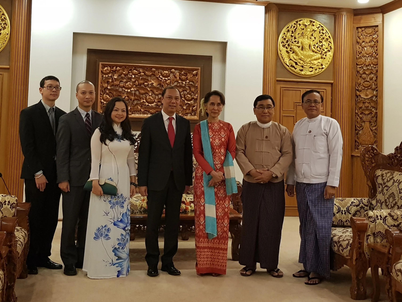 Việt Nam hỗ trợ 100.000 USD tái thiết khu vực xung đột tại Myanmar