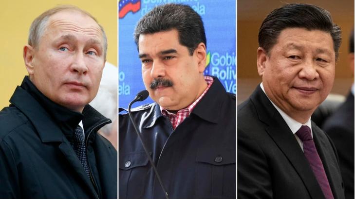 Sự hậu thuẫn đặc biệt từ Nga - Trung với Tổng thống Venezuela