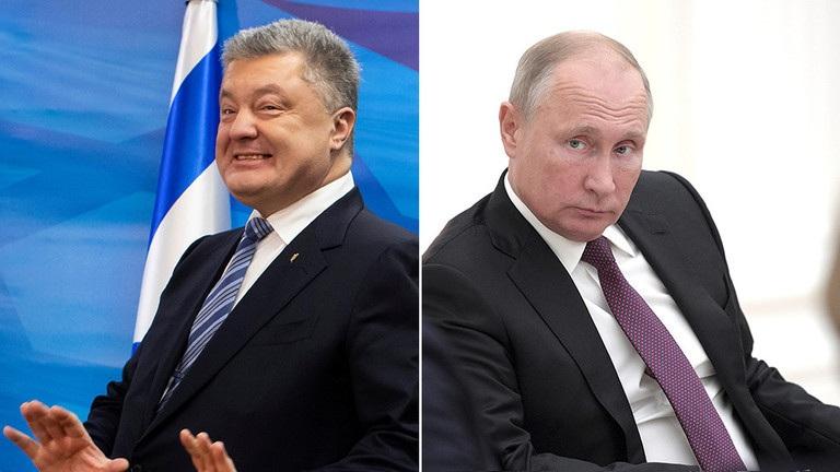 Tổng thống Ukraine gây tranh cãi vì tuyên bố tranh cử với ông Putin