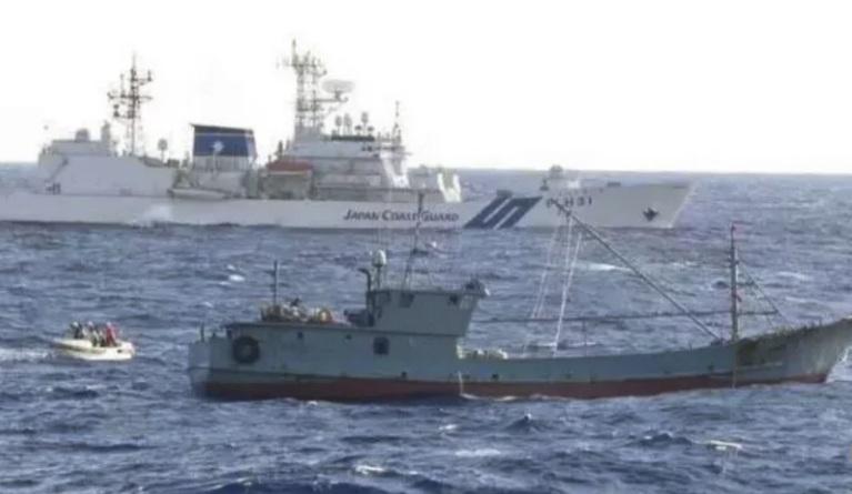 Nhật Bản bắt thuyền trưởng tàu cá Trung Quốc vì nghi vi phạm quyền đánh bắt